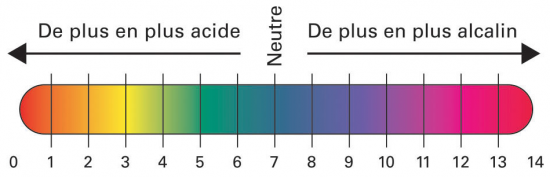 pH scale ok