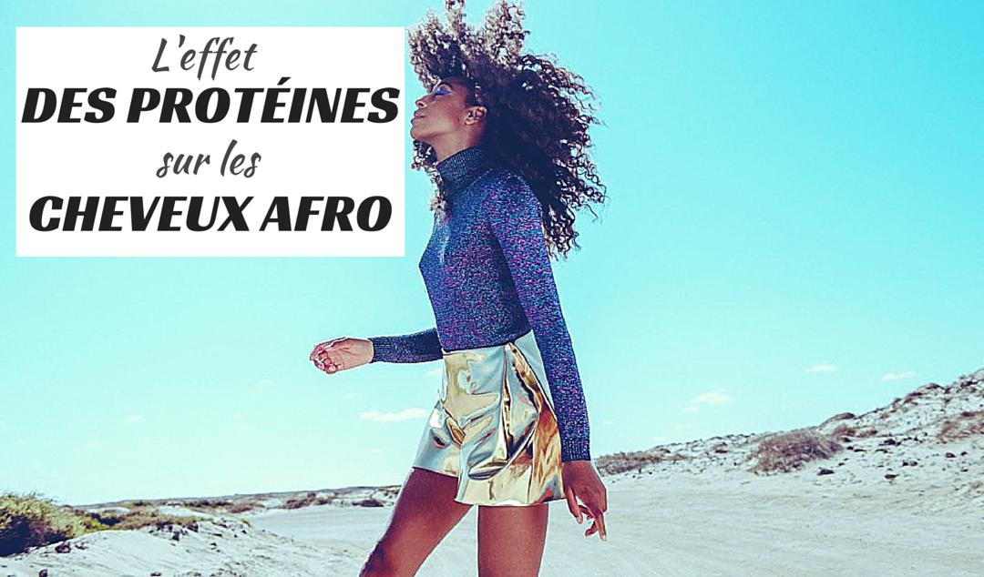 L'effet des protéines sur les cheveux afro