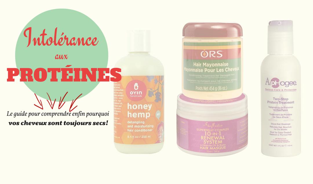 Sensibilit aux prot ines sur cheveux cr pus olivia rose - Produit riche en proteine ...