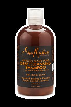Shampoing antipelliculaire cheveux crépus secs