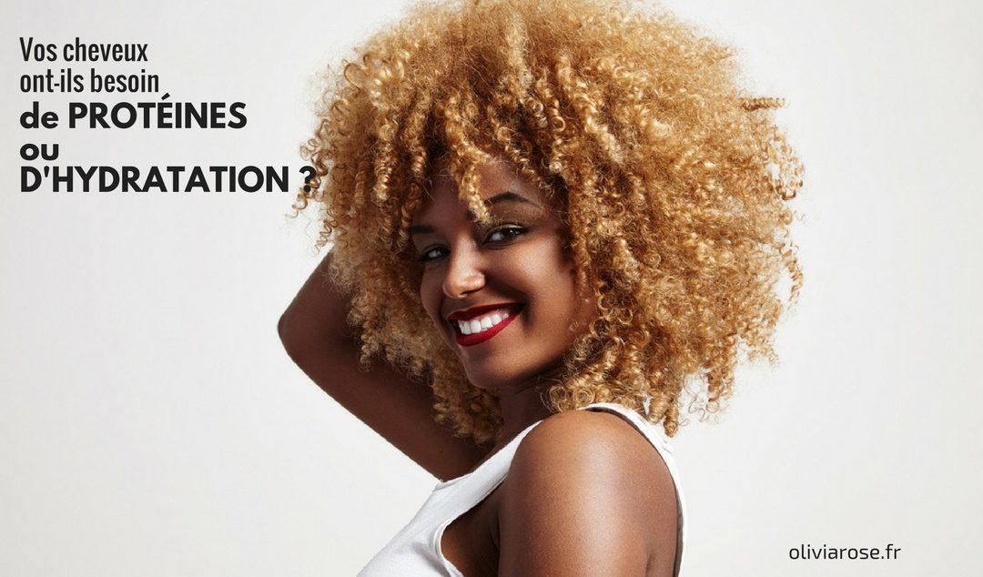Comment hydrater les cheveux naturels