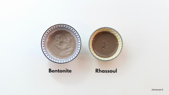 argile bentonite rhassoul cheveux afro crépus naturels