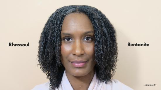 argile rhassoul bentonite cheveux afro crépus naturels