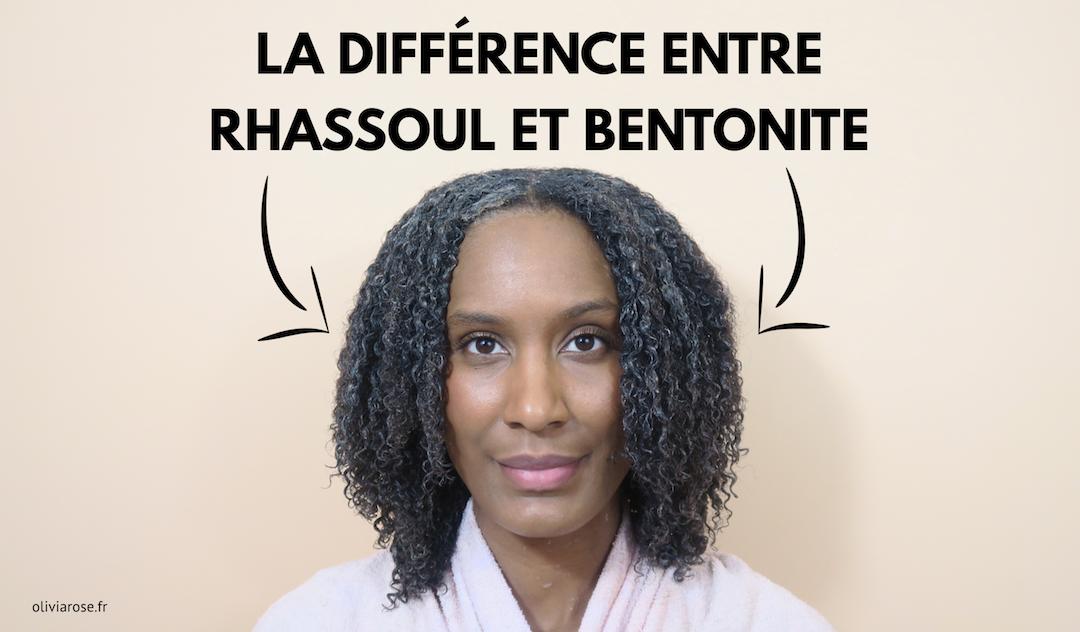 différence entre rhassoul bentonite cheveux crépus afro naturels