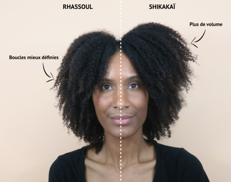 shikakaï cheveux crépus