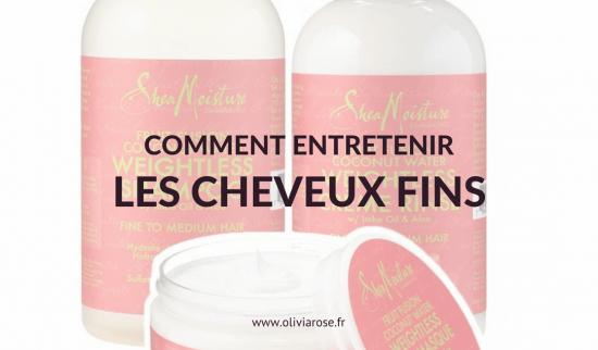 Comment Entretenir Les Cheveux Crepus Fins Olivia Rose