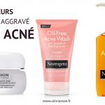 erreurs a eviter acne