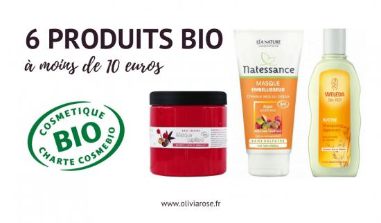 produits bio cheveux naturels