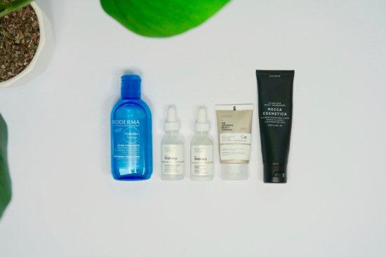 routine matin acné