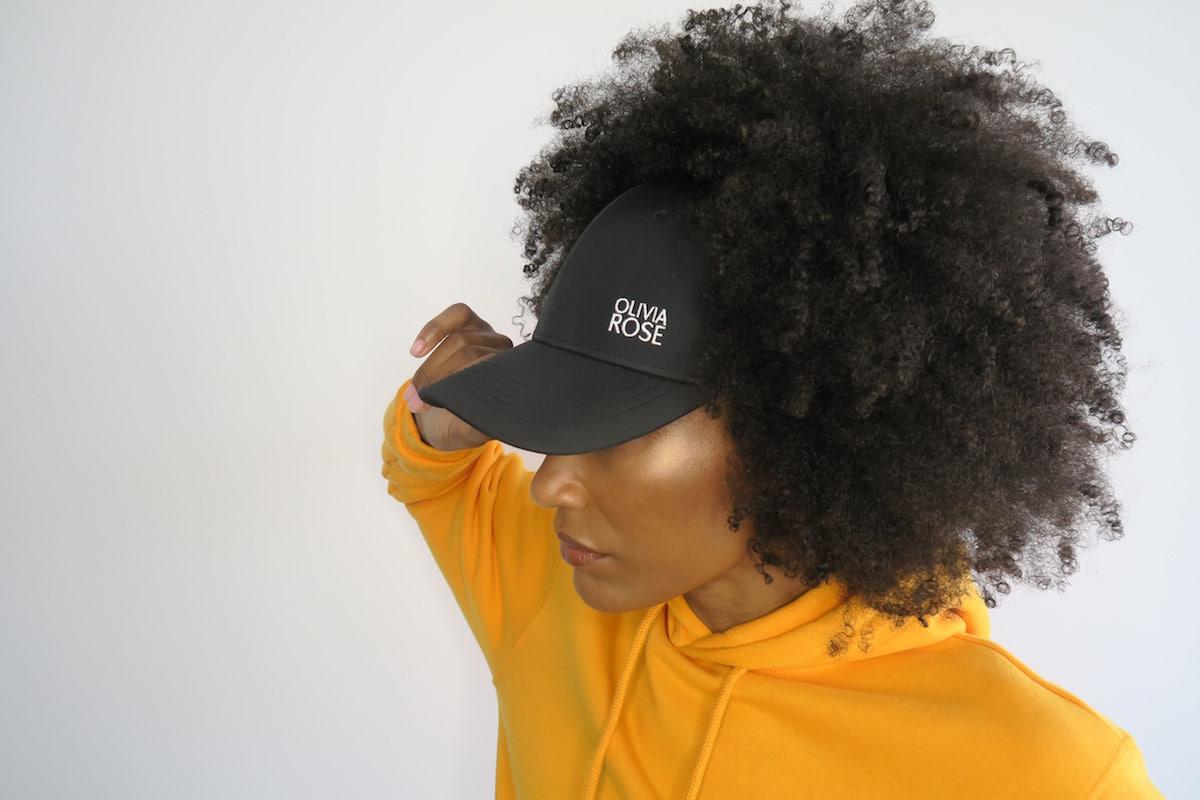 casquette cheveux crépus